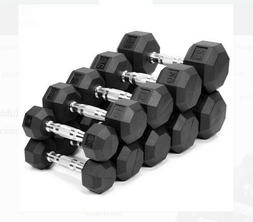10#, 15#, 20#, 25#, 30#, 35# OR 40# WEIDER RUBBER COATED HEX