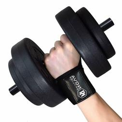20 Inch Wrist Wraps for Weight Lifting Bodybuilding CrossFit