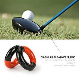 Warm Up Golf Club Weighted Swing Ring Round Donut Weight Rin