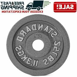 25 LB Weight Plates Olympic Single 2 Inch Exercise Workout T