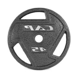 CAP 45 LB Olympic 2'' Weight Plate Set 2 Weights Barbell Pla