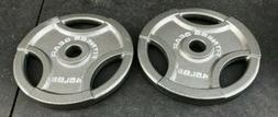 ⚡️45lb Olympic Weight Plates- Pair-FITNESS GEAR- OLYMPIC