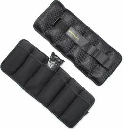 Adjustable Ankle Weights Running Pair For Leg Home Gym Exerc