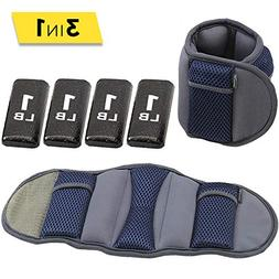 Empower Fitness 8Lb Adjustable Ankle/Wrist Weights - MP-3417
