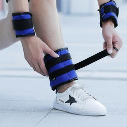 Adjustable Strap Ankle Wrist Weights Fitness Training Leg Ex