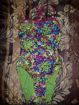 Speedo Alice in Wonderland/Checkered Chlorine Resistant Ligh