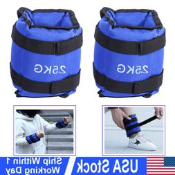 Ankle Wrist Leg Weights Exercise Gym Strength Training Strap
