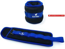Virtee Ankle/Wrist Weights With Adjustable Strap For Men, Wo