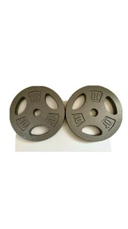 "Cap Barbell 10lbs 1"" Standard Weight Plates  2 x 10 lb FRE"