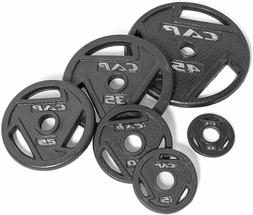 "CAP Barbell Olympic 2"" Grip Plates 2.5, 5, 10, 25, 35 OR 45"