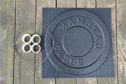 Cast Your Own Weights! 45lb Olympic Concrete Weight Mold. Ma