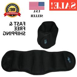 COMFORTABLE Ankle Weights Strength Training Weight Set with