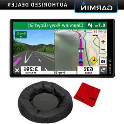 Garmin DriveSmart 55 & Traffic with Cable & Weighted Dash Su