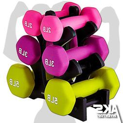 Dumbell Weight Set Free Weights Home Gym Fitness Equipment S