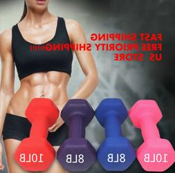 Fitness Exercise Cardio Equipment Pair Dumbbell  Select Weig