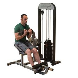 Body Solid GCABSTK Pro Select Ab and Back Machine with DuraF