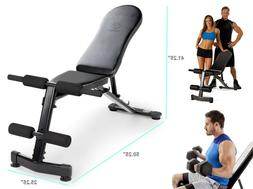 Gym Bench for Barbell Weight Lifting & Fitness Upright Incli