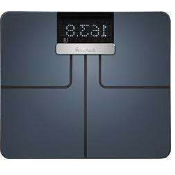 Garmin Index Wi-Fi Enabled Smart Scale Black with BMI and Mu