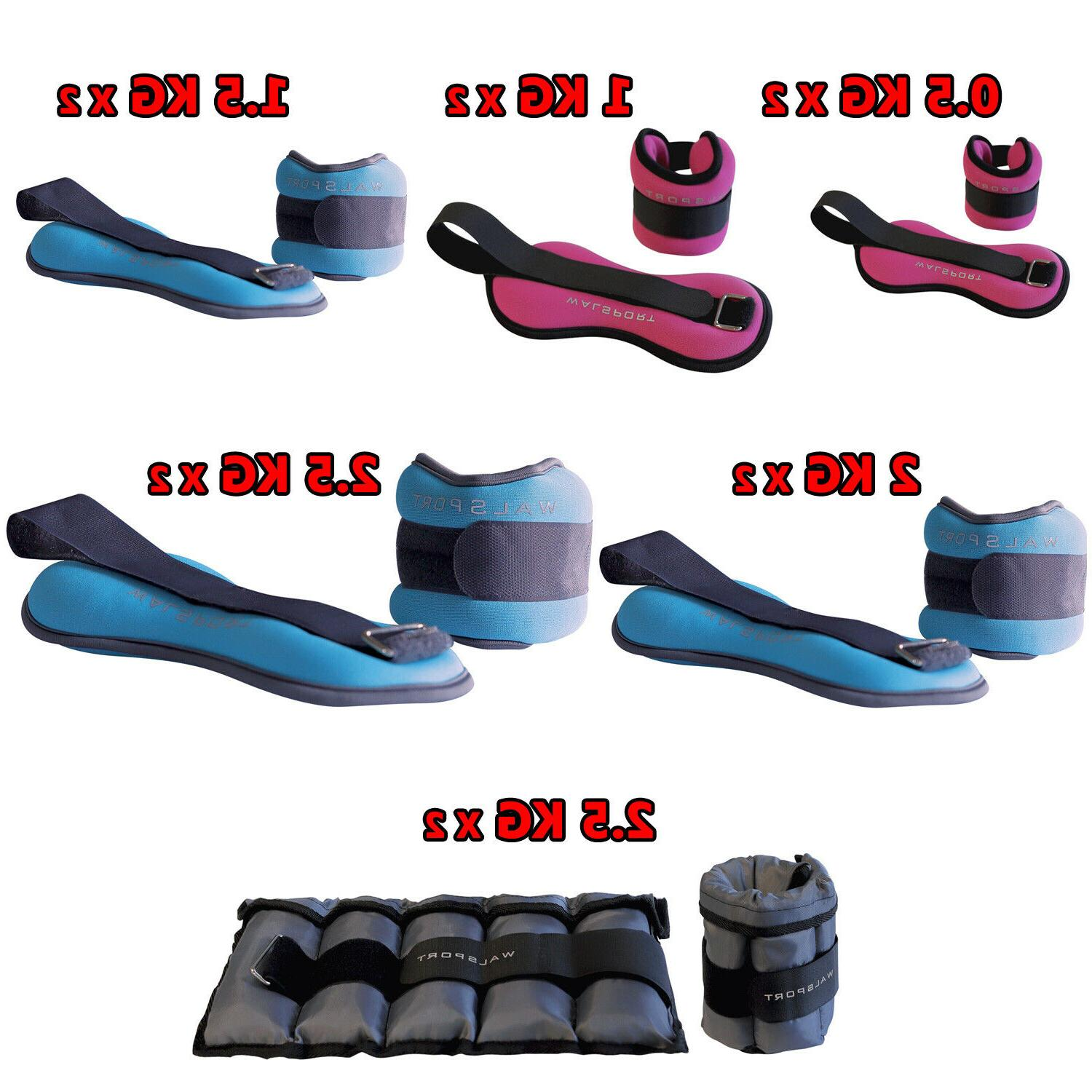 1 Ankle Wrist Weights Training Fitness Running Exercise