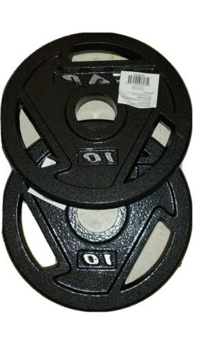 10 lb weight plates olympic 2inch total