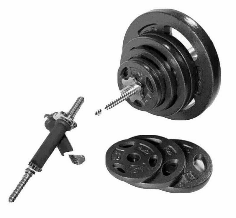 110LB Weight Set with Standard Size Plates