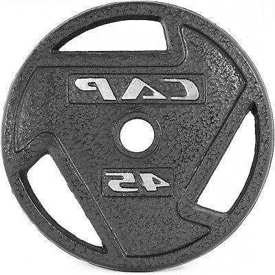 CAP Barbell Olympic Plate Iron Single