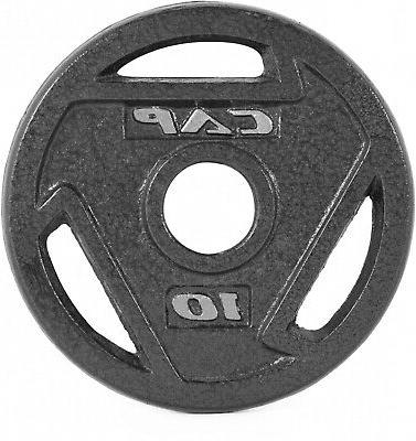 CAP Barbell 2 Olympic Grip Iron Weights Single