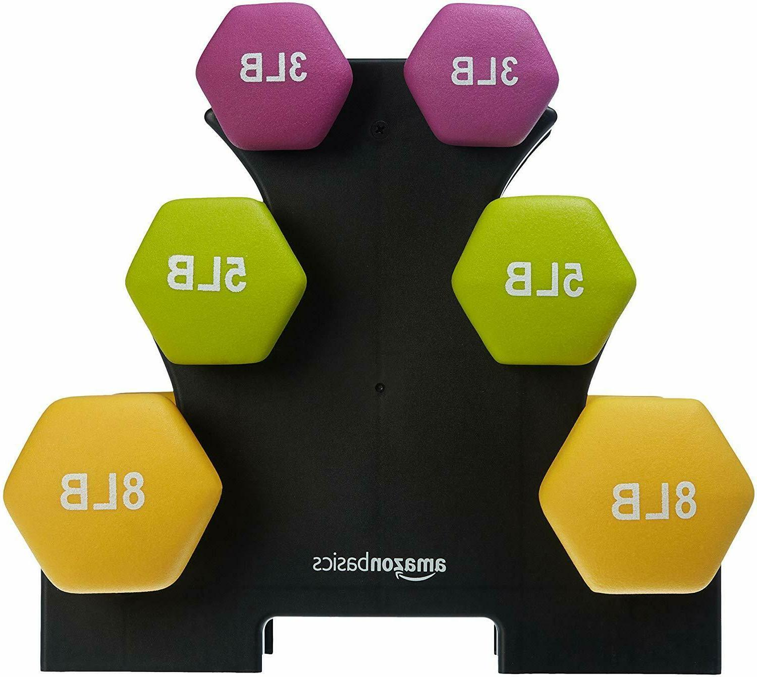 20 pounds neoprene workout dumbbell weights