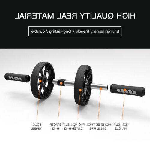 AB Abdominal ABS Wheel Fitness Workout Equipment