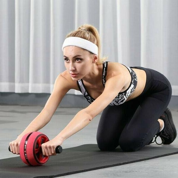 AB Wheel Exercise for Home Gym,