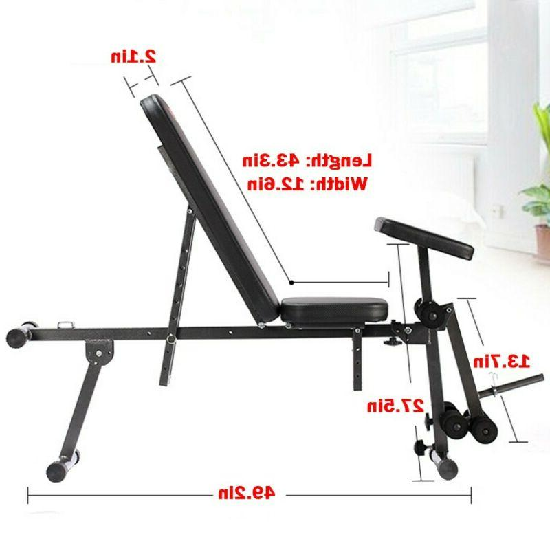 Adjustable Lifting Flat Incline Workout Sports
