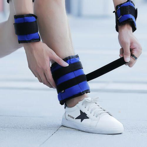 Ankle Wrist Weights Exercise Gym Strength Strap Running Gym