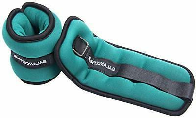 Ankle GoFit Adjustable Wrist Arm Leg Weights by BalanceFrom