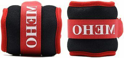 ankle weights set of 2 red 5lb