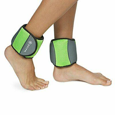 Gaiam Ankle Weights Strength Training Sets for WomenMen