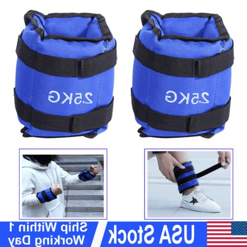 ankle wrist leg weights exercise gym strength