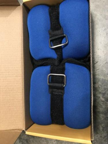 CAP ANKLE WRIST WEIGHTS PAIR - 2.5 EACH LOT 2 - TOTAL LBS NEW