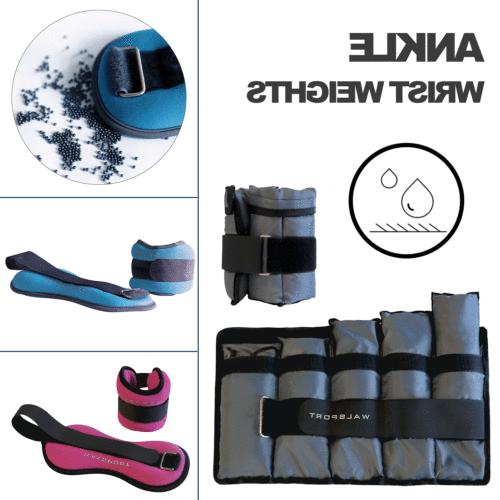 ankle wrist weights sets adjustable gym fitness