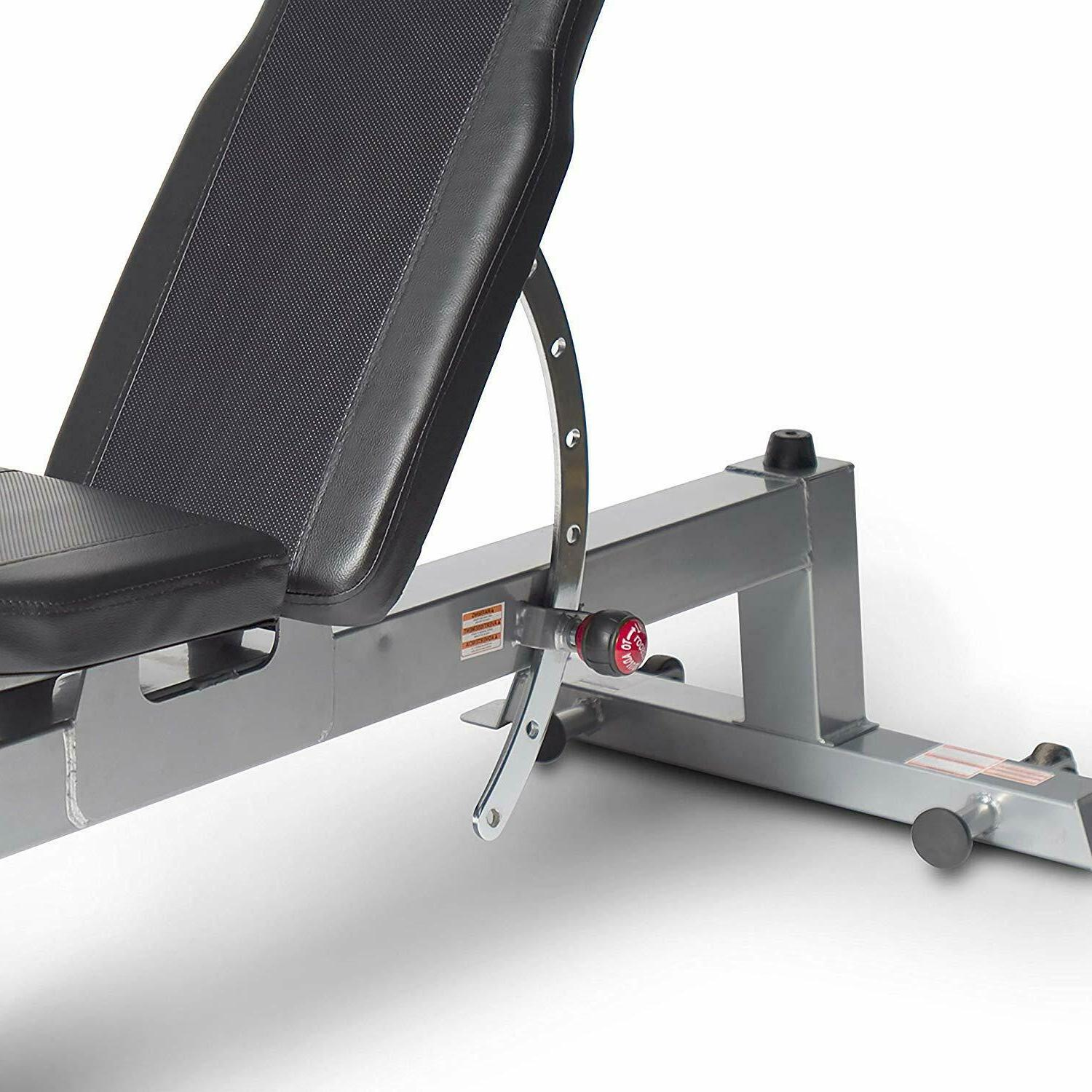 CAP Size Adjustable Bench Home Gym