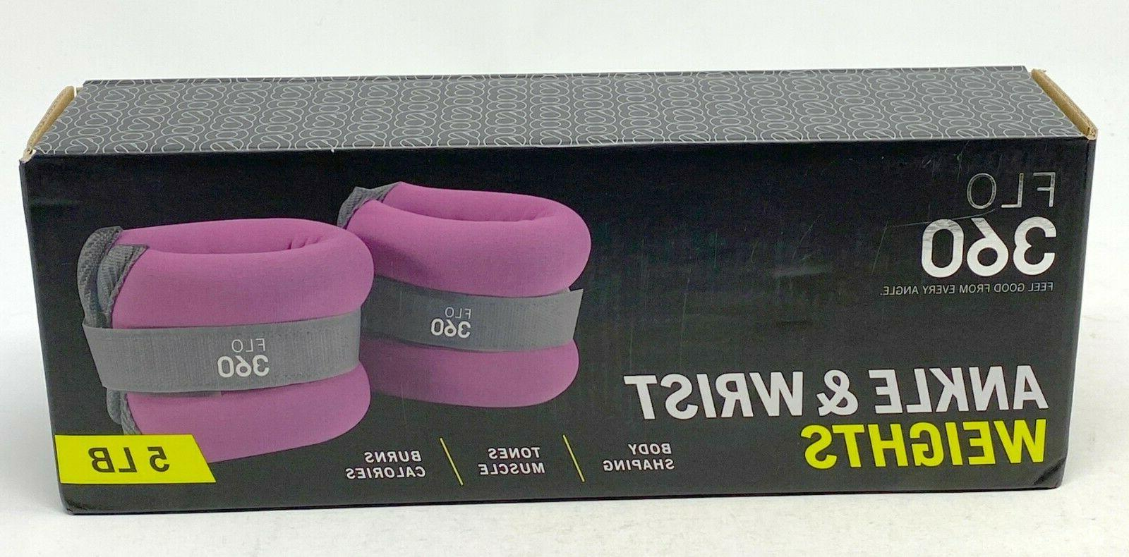 flo 360 ankle and wrist weights 5lb
