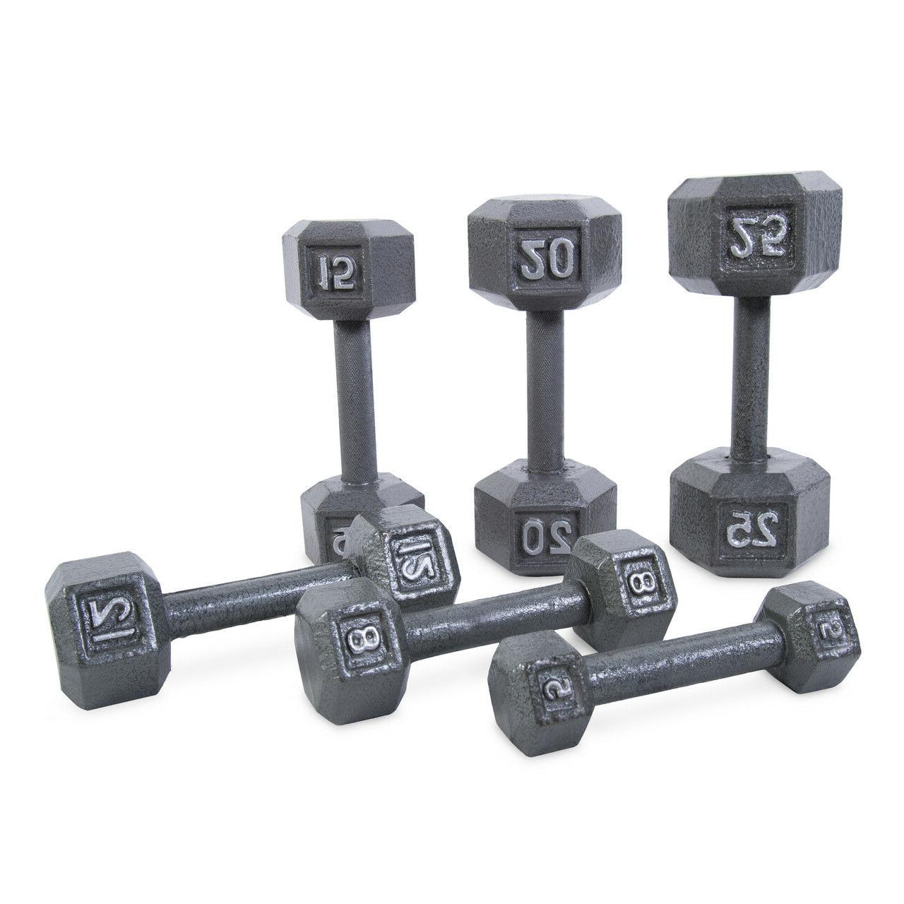 SET 2 IRON Gym Fitness Workout Barbell Weights