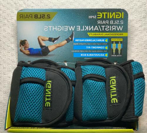 ignite by wrist ankle weights set 2