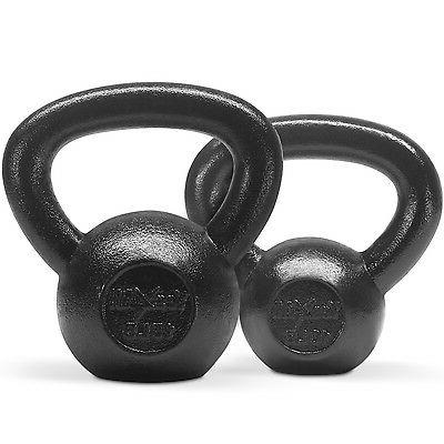 Yes4All Kettlebell 10 + 15 lbs Set Fitness Body Gym Training