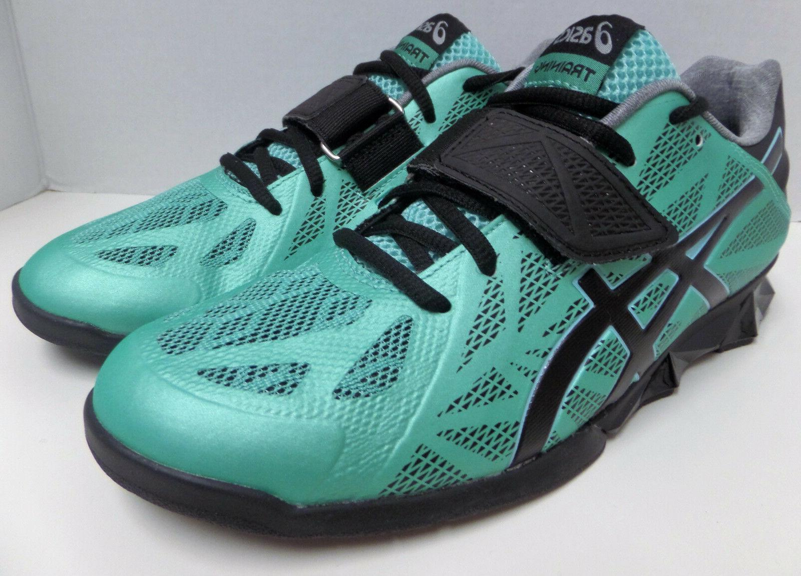 Weight Lifting Shoes Teal/Black/Silver