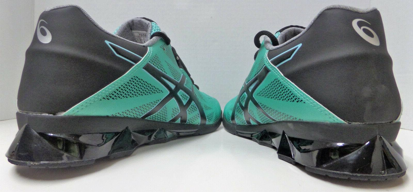 Asics Shoes Teal/Black/Silver
