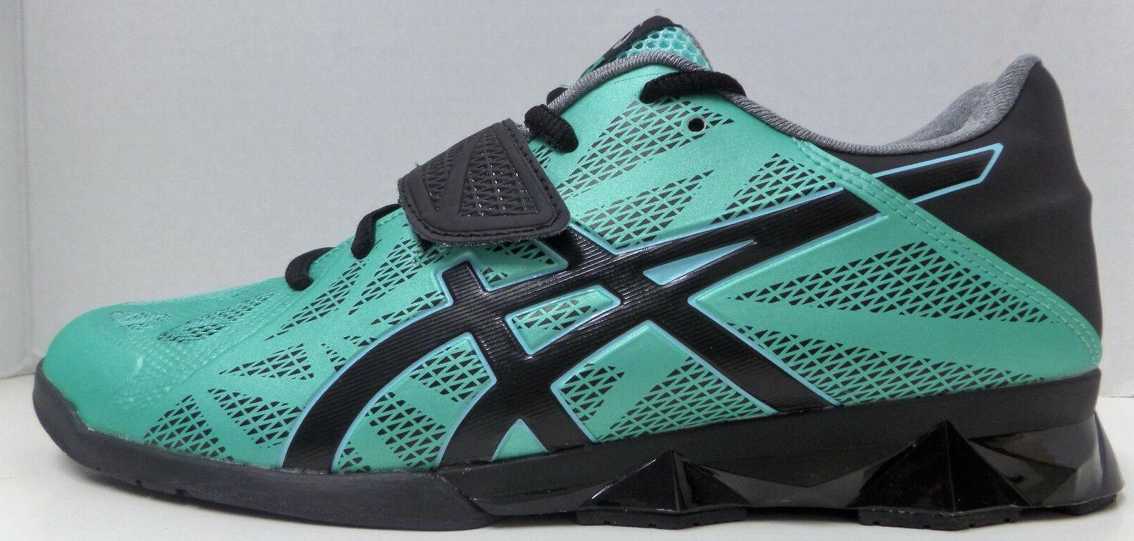 Asics Weight Lifting Womens Shoes Teal/Black/Silver