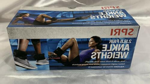 NEW of 2.5lb Ankle by SPRI-In hand FAST FREE SHIP