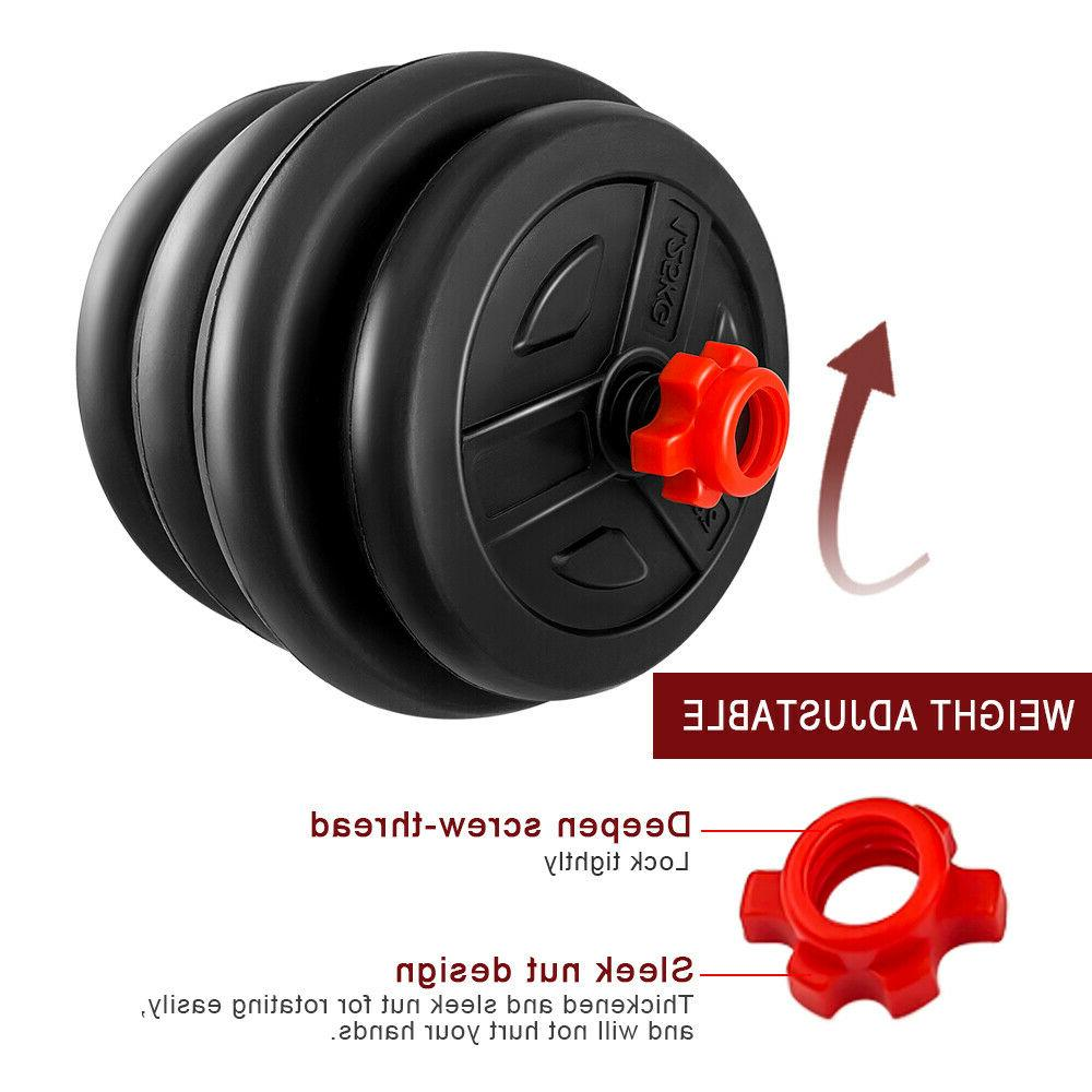 New Dumbbell Barbell 88LB Home Workout