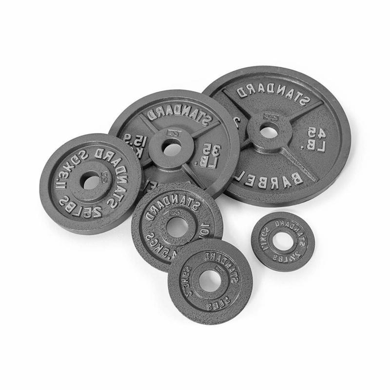 CAP Barbell Weight Plate, Gray, Single