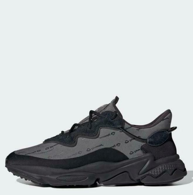 ozweego black all size authentic light weight